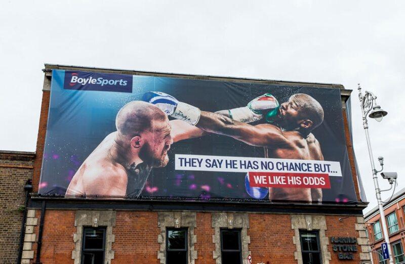 Mayweather vs. McGregor.