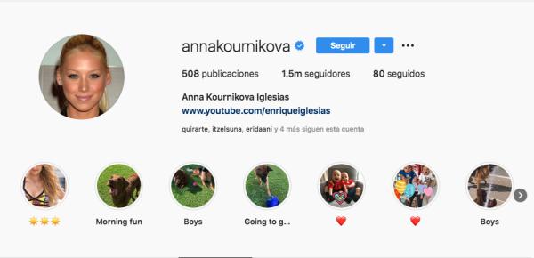 Ana Kournikova