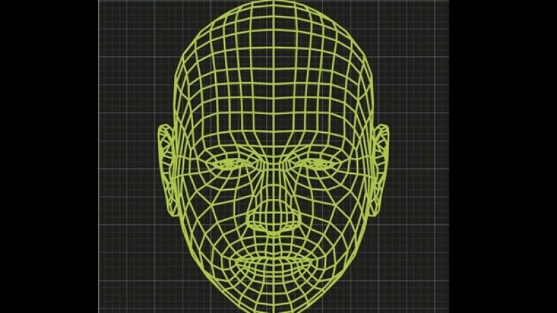 rostro 3D