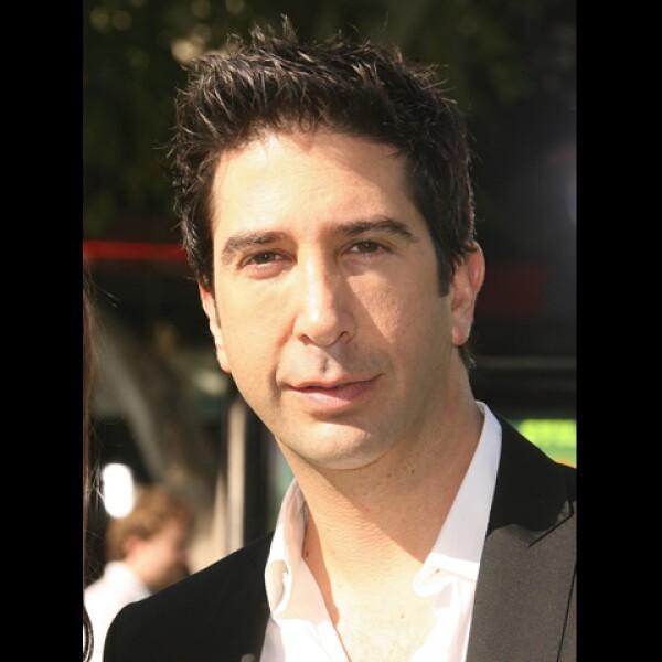 David Schwimmer, Ross en la serie Friends, ha logrado separar su vida personal de la profesional, sobre todo después de su éxito en la serie.