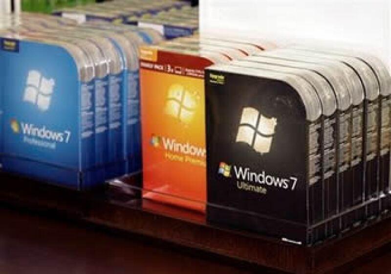 Steve Ballmer presentó la última versión del sistema operativo Windows en Nueva York. (Foto: AP)