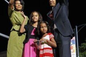 La familia se mudó a la Casa Blanca el 20 de enero.