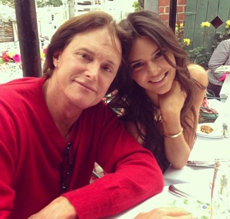 Kendall y Kylie siempre han sido las niñas de papá.