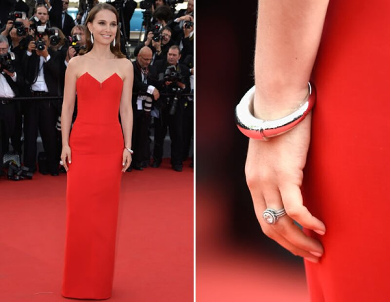 Natalie Portman en Christian Dior Couture.
