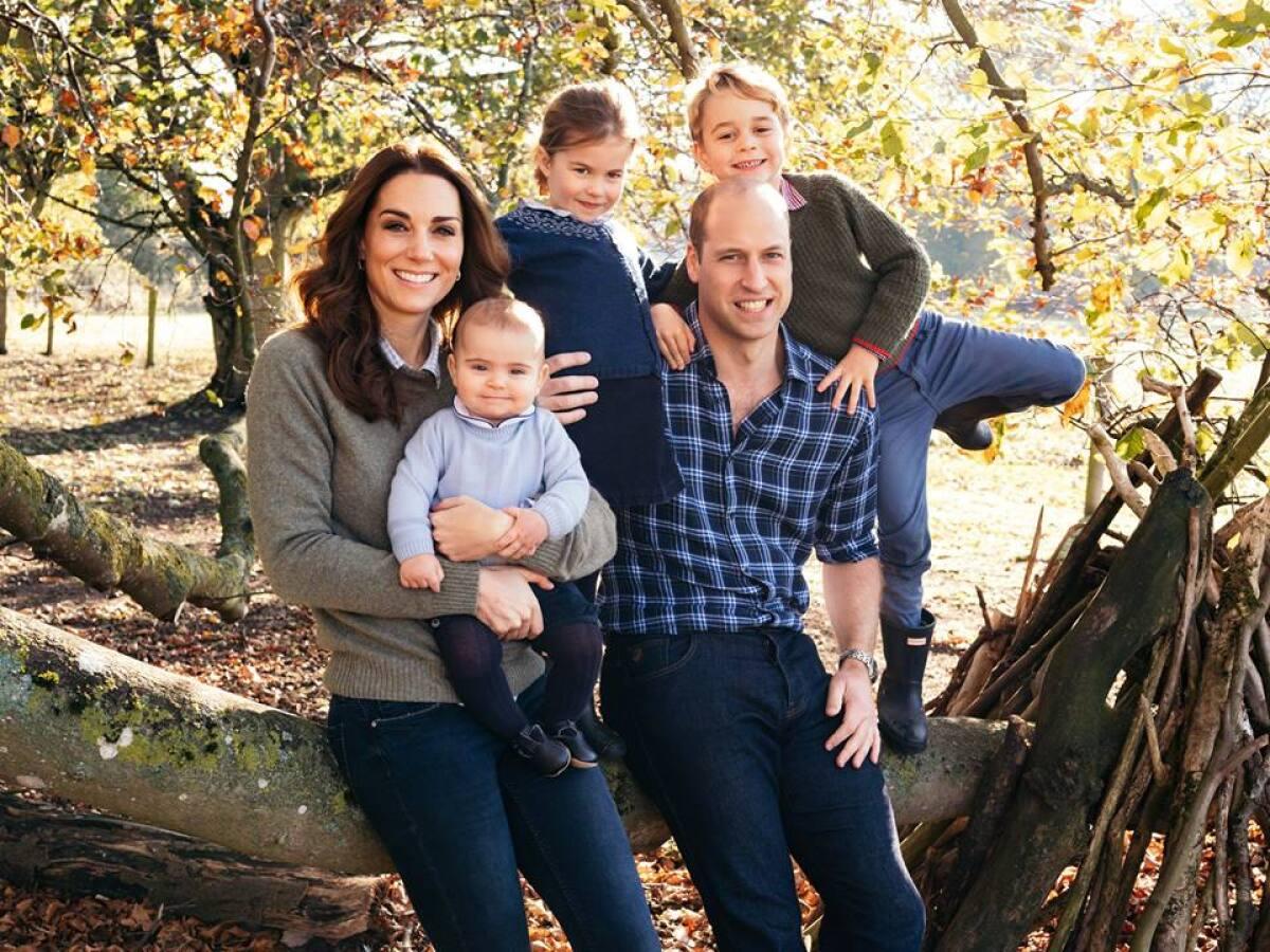 El príncipe William y Kate Middleton llevan así la cuarentena con sus hijos