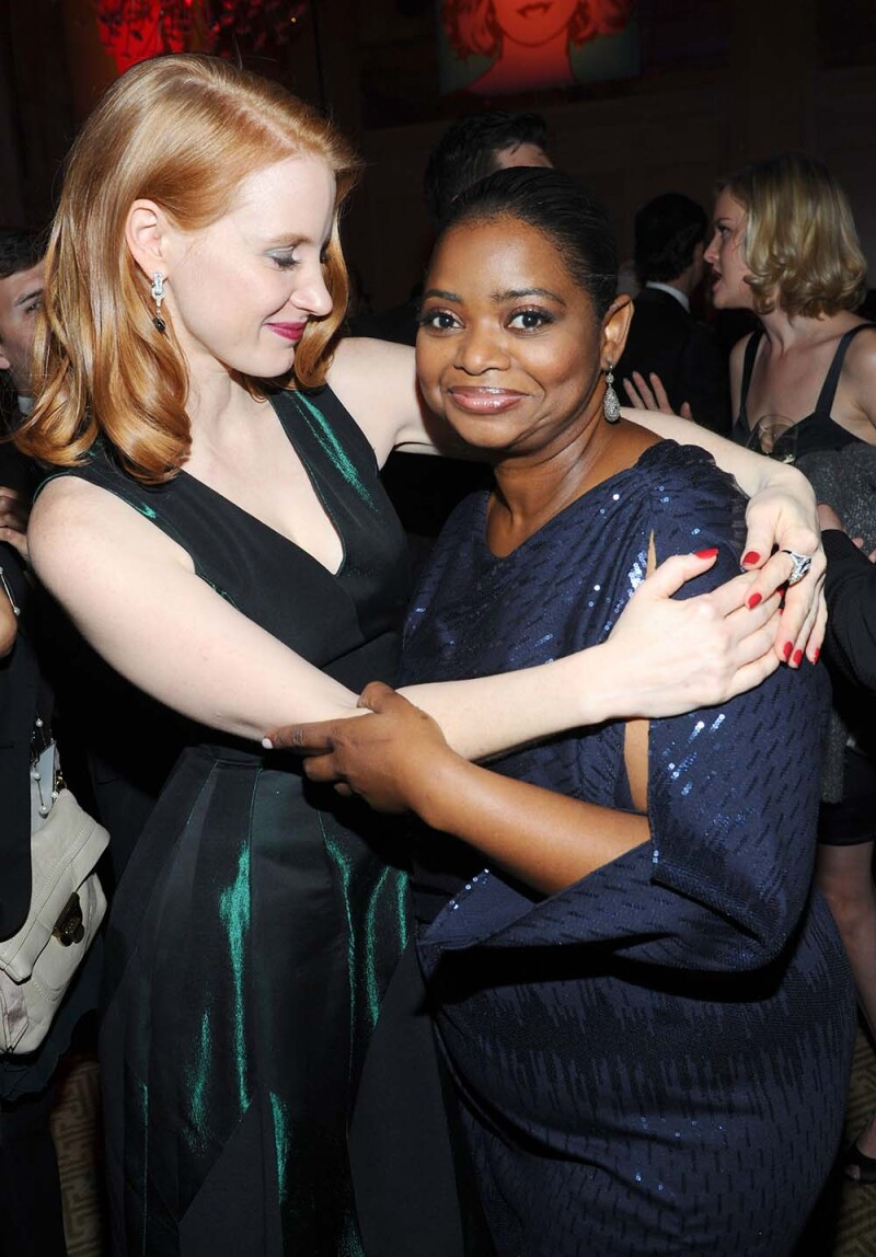 Octavia Spencer y Jessica Chastain