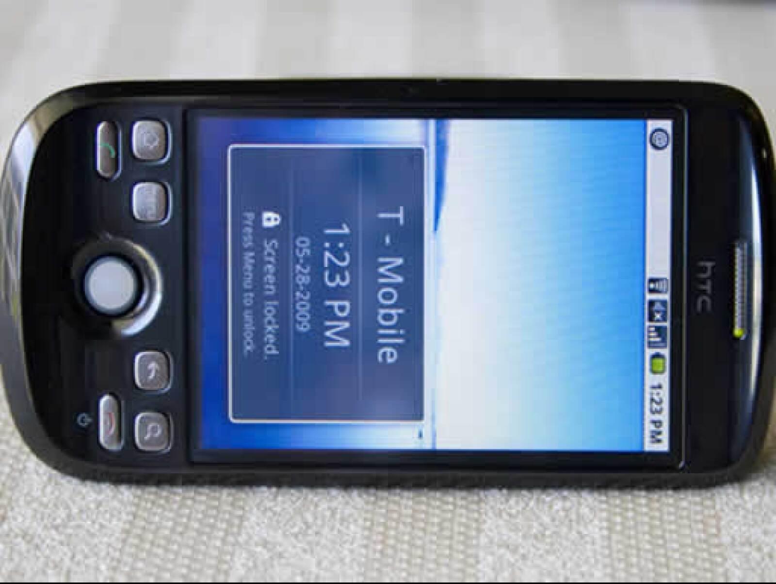 El T-Mobile G2 de Google Ion tiene capacidad de 512MB en memoria ROM y 288MB en memoria RAM
