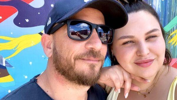 Estefanía Villarreal y su novio Gidi Schwartz