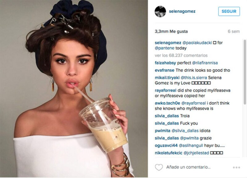 La cantante incluso desbancó a Taylor Swift como la reina de Instagram