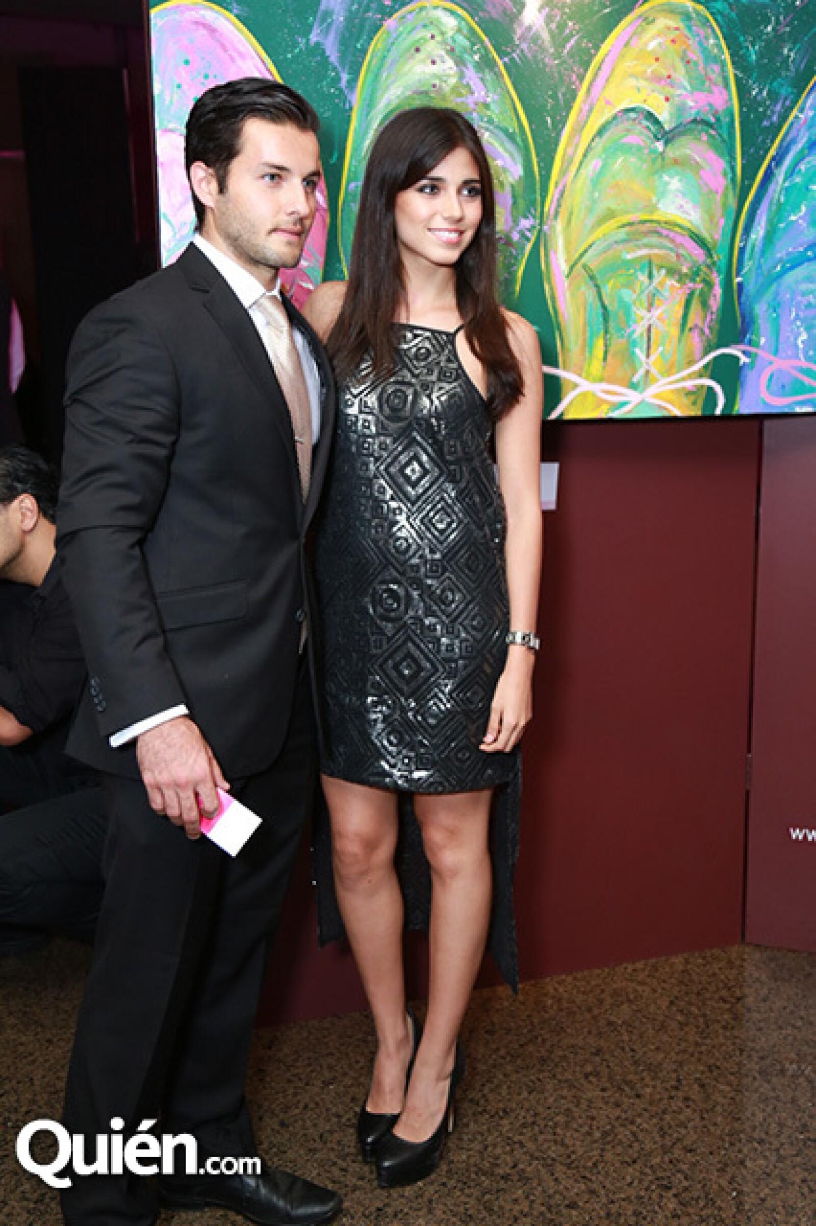 Diego Guzmán y Lorena Frías