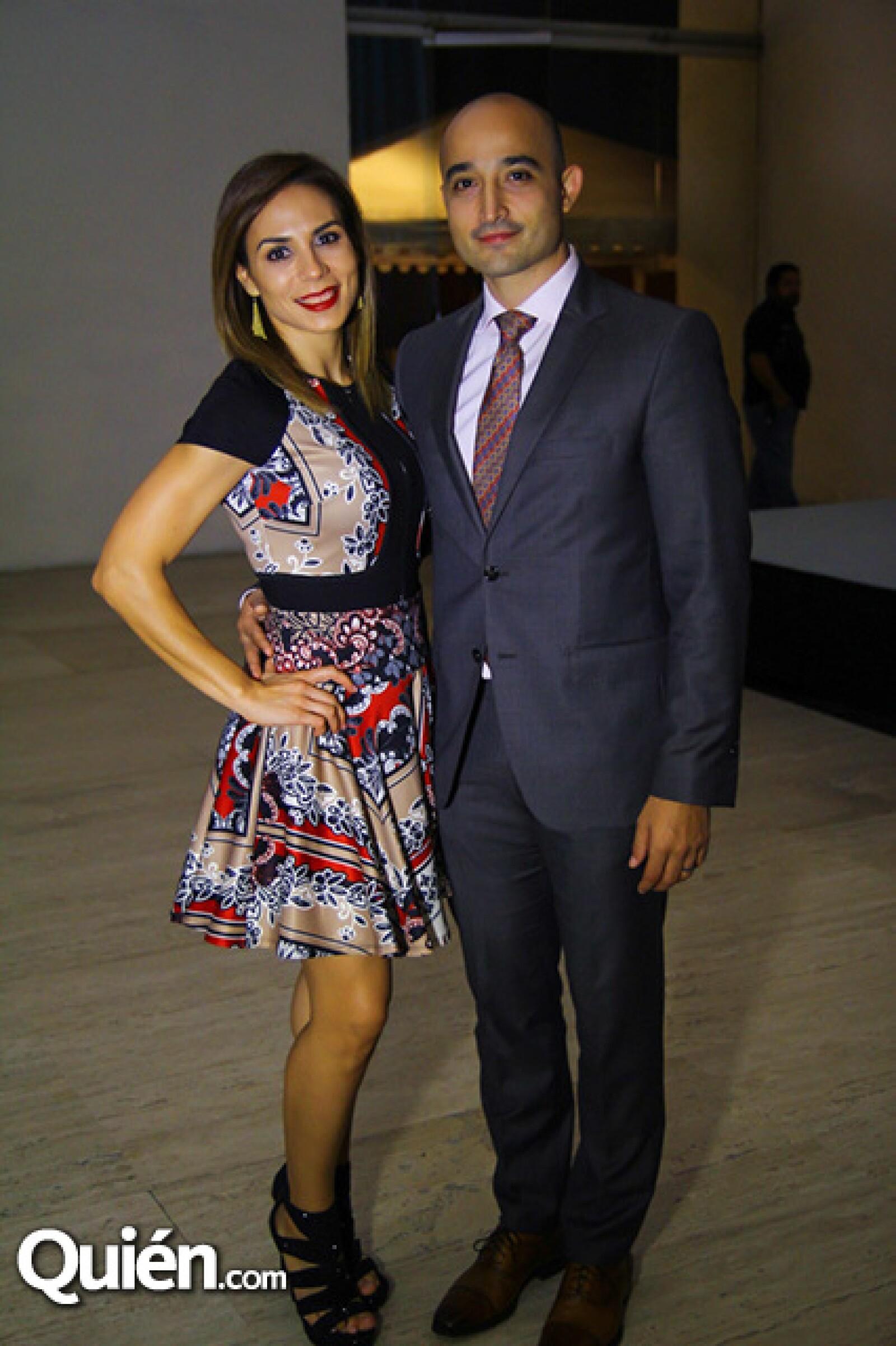 Karina de Martínez y Carlos Martínez