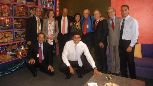 El empresario invitó al prestigiado periodista a que diera una plática dentro del evento organizado por la Fundación Telmex, México Siglo XXI.