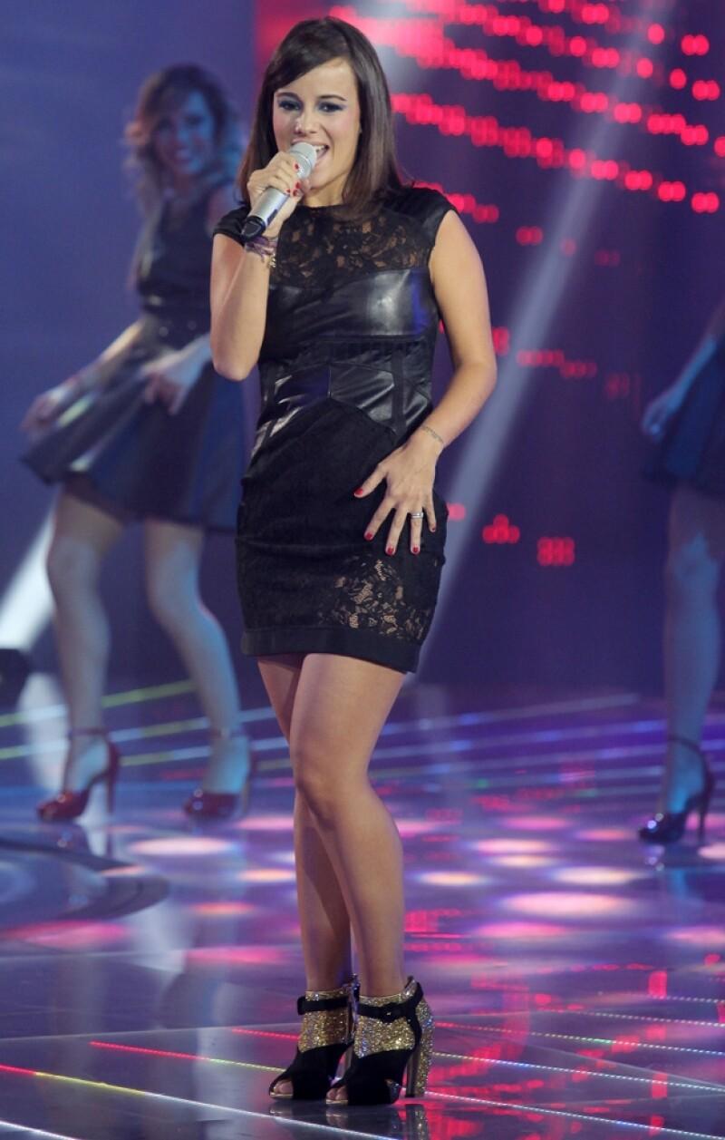 La cantante francesa se presentó con éxito en el reality de Tv Azteca, aunque no con la imagen sexy que la caracterizó hace unos años.