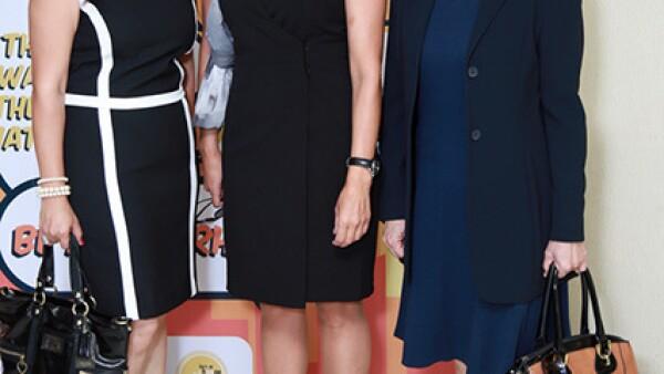 Gabriela Garza de Olivares,María Eugenia Prieto de Terán y Norma Doris Daza