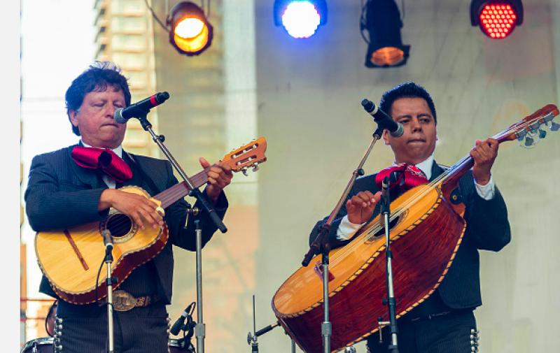 Un mariachi en el concierto de ambos sería un gran detalle para los fans.