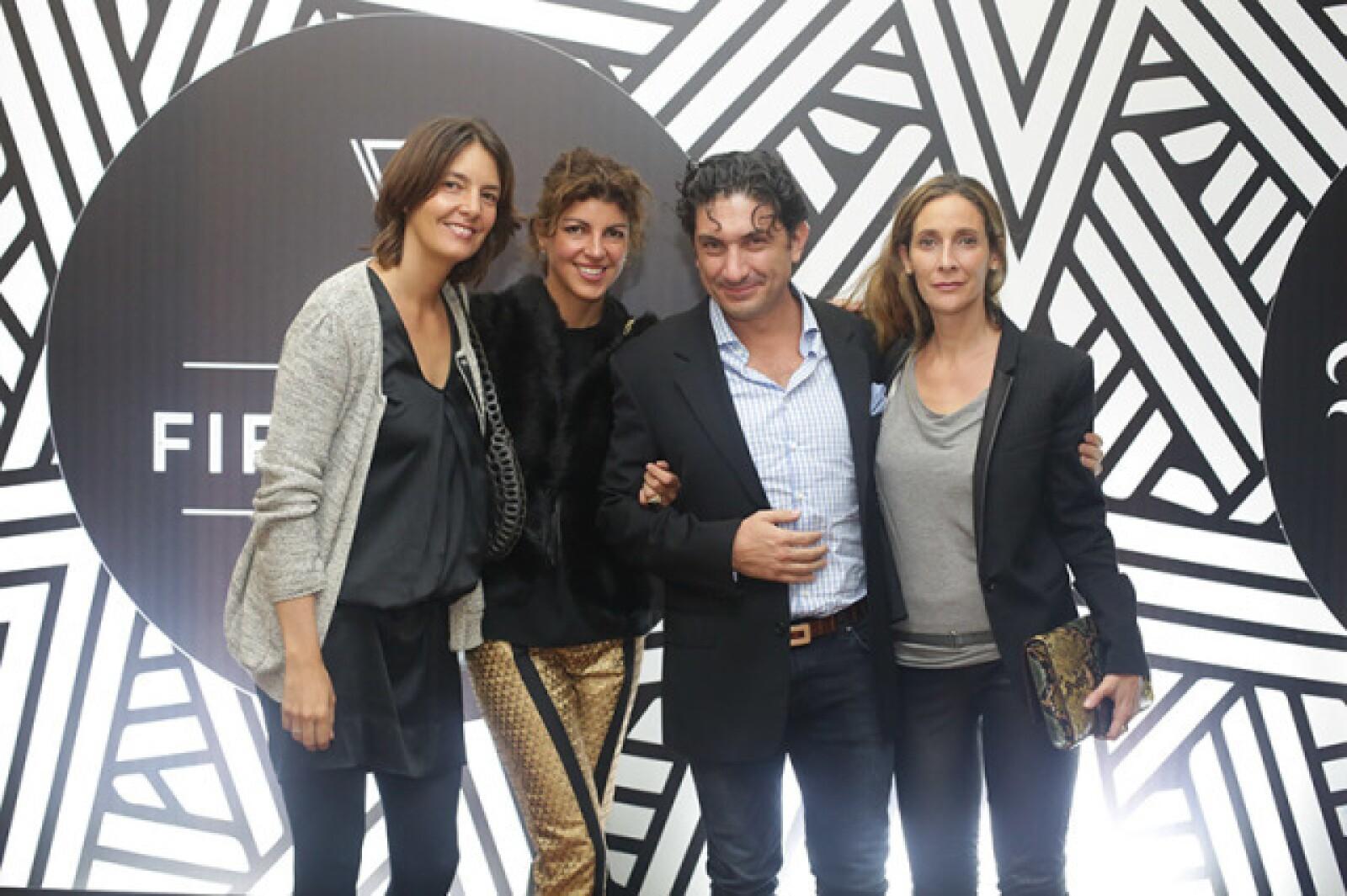 Mariana Escudero,Fernanda Hegewisch,David Jassan y Tania Zesati