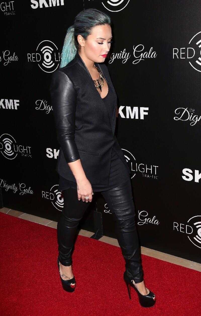La mejor amiga de Demi Lovato no fue precisamente muy viva.