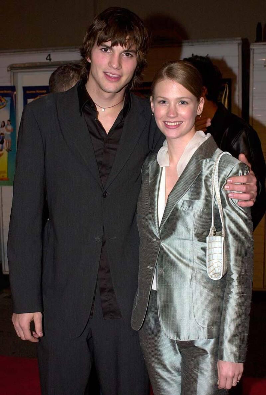 Ashton y January mantuvieron una relación de tres años.