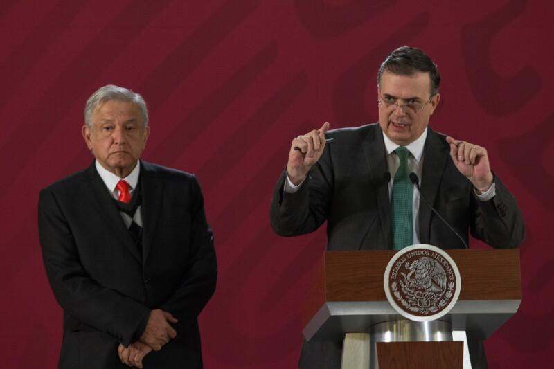 López Obrador y Ebrard