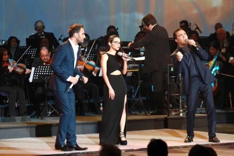 Chui Navarro también fue uno de los invitados a cantar los mejores temas de telenovela de las últimas décadas.
