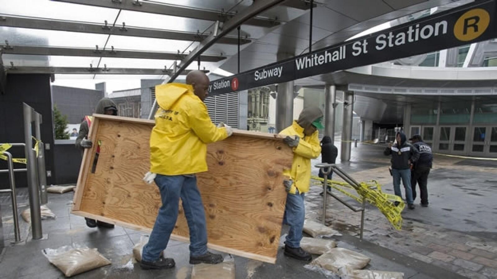 Nueva York amanece al desastre