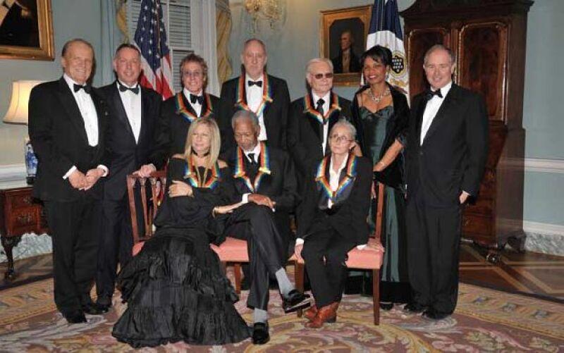"""La cantante fue homenajeada en el Centro Kennedy y dijo que hubiera sido """"encantador"""" poder recibir el premio cuando Barack Obama estuviera ya en la presidencia."""
