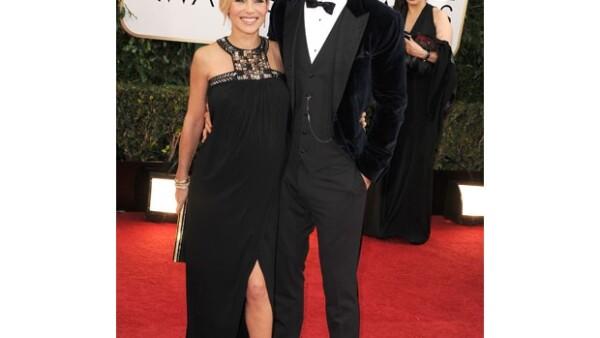 La famosa pareja que lució radiante en la alfombra roja de los Golden Globes acaban de recibir la noticia que no será uno sino dos bebés los que vienen en camino.