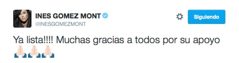 """La conductora realizará su primera aparición hoy en el programa """"Cuéntamelo ya"""", dejando así a TV Azteca."""