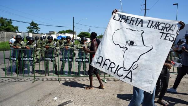 migrantes africanos chiapas