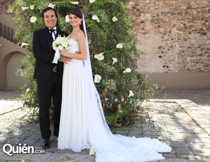 La boda tuvo lugar en Querétaro.