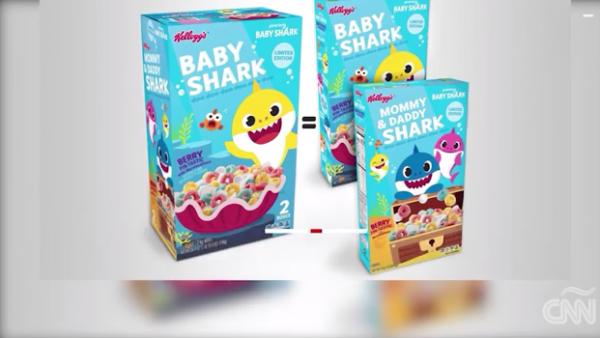 La canción de Baby Shark estará de vuelta en tu mente gracias a este cereal