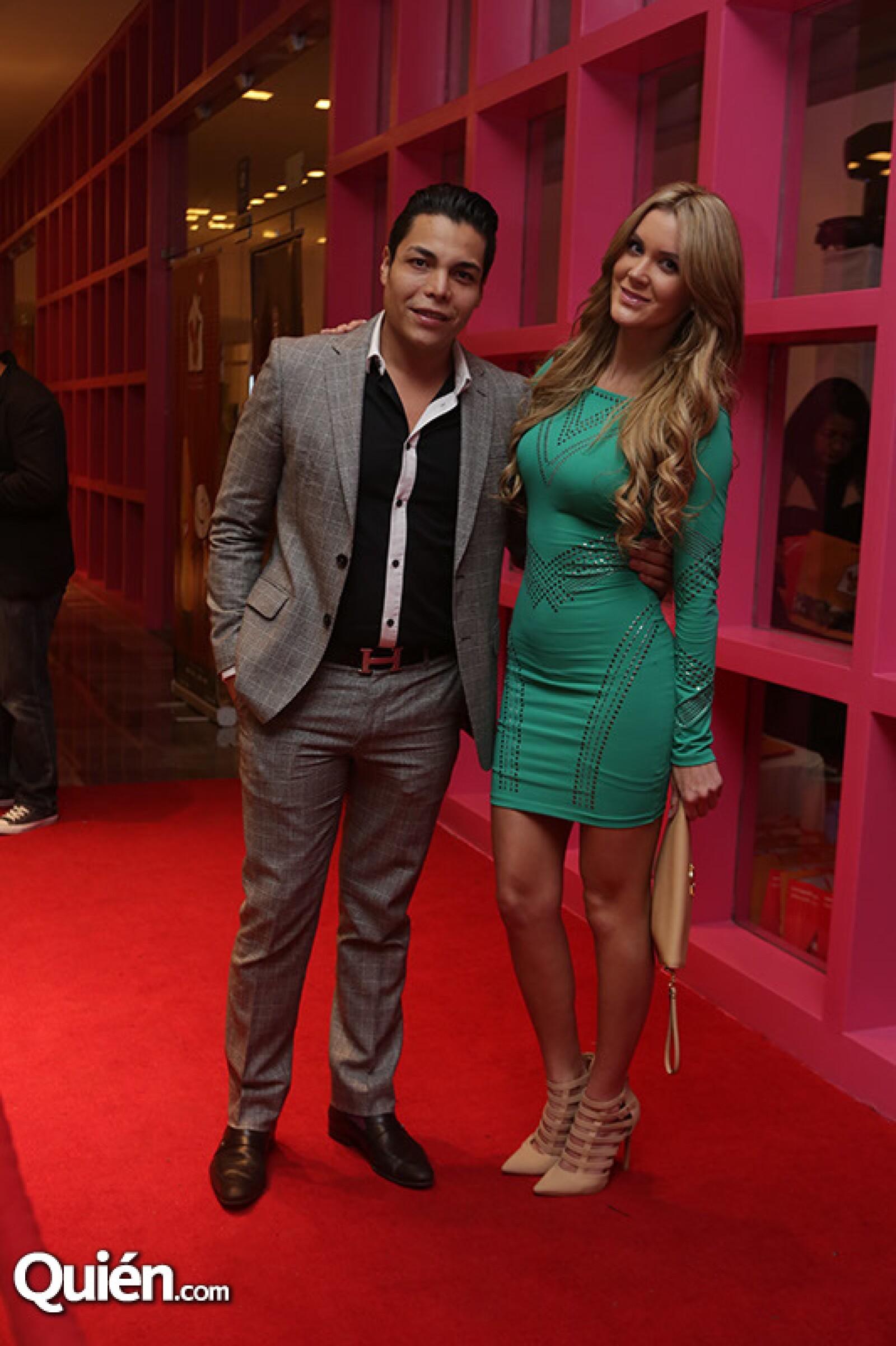 Pedro Montiel y Verónica Montes
