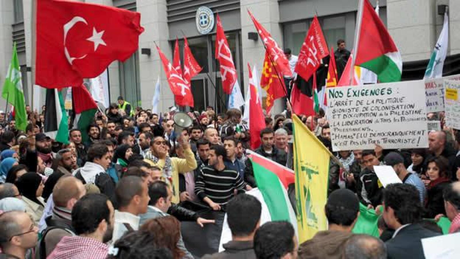 protesta gaza gal9