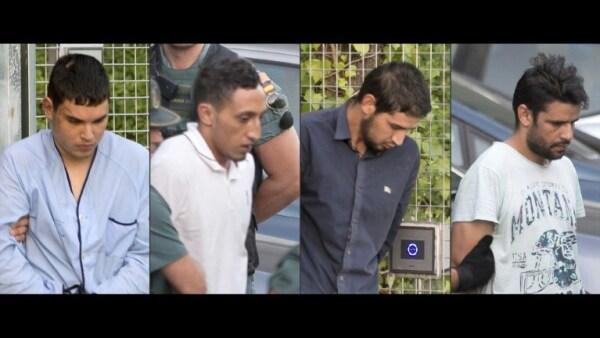 España interroga a los cuatro detenidos por el doble atentado en Cataluña