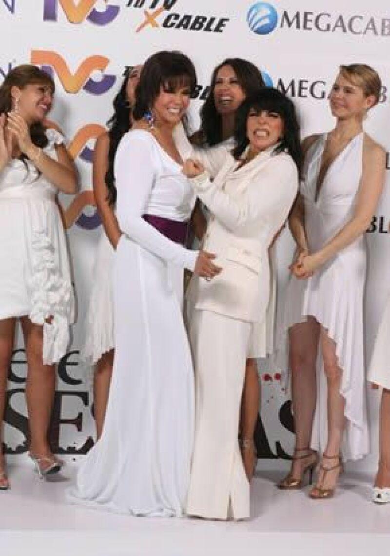 Ambas actrices participarán en un mismo capítulo de la serie de televisión Mujeres Asesinas.