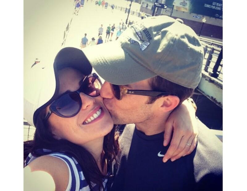Marshall Trenkmann es el gran amor y apoyo de Karla en Estados Unidos