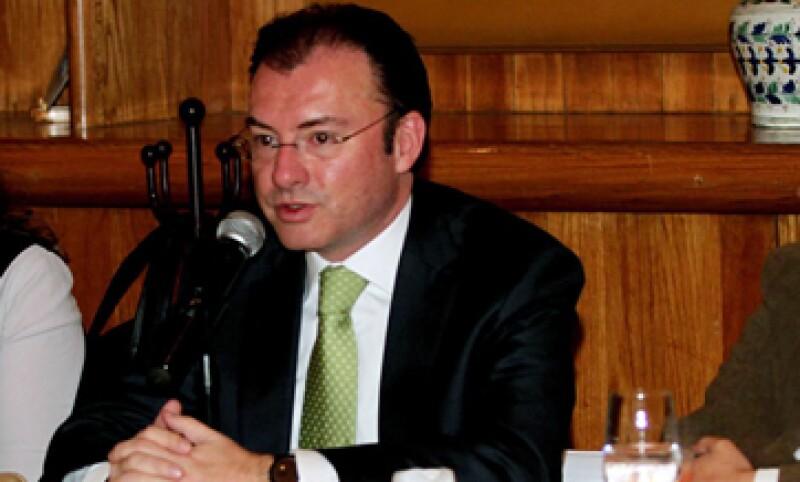 El Estado de derecho otorga certidumbre los contratos, la seguridad pública y la protección a los derechos de propiedad, dijo Videgaray. (Foto: Notimex)