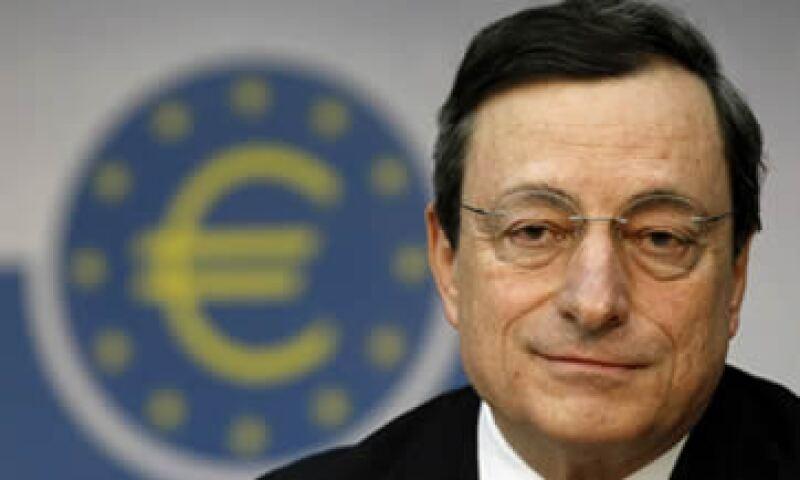 Mario Draghi dijo que la eurozona es insostenible y pidió una profunda reforma. (Foto: AP)