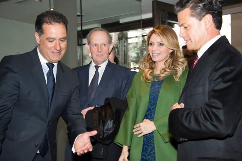 A su paso, el presidente y su esposa visitarán diversos lugares como la Abadía de Westminster.