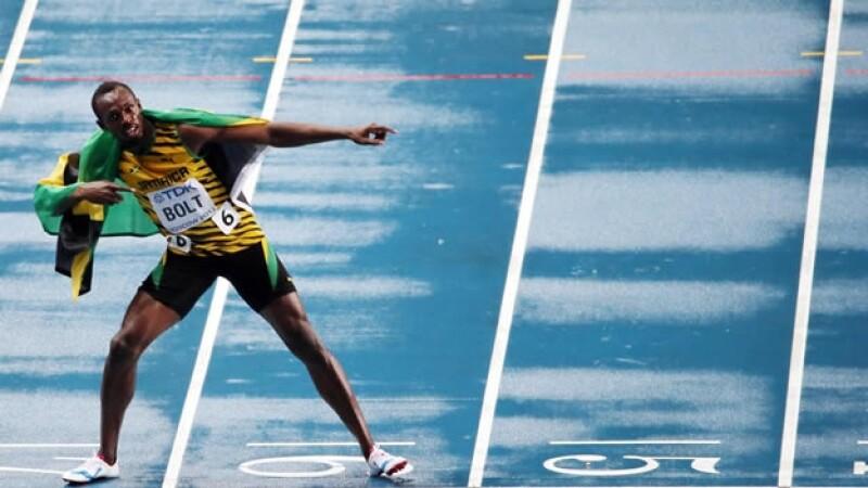 Usain Bolt gana los 100 metros