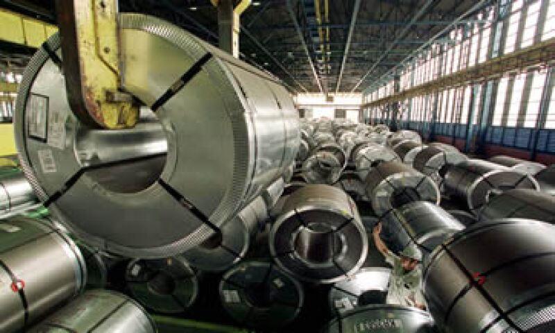 América Latina es el segundo destino más importante para el acero laminado chino.  (Foto: AFP )