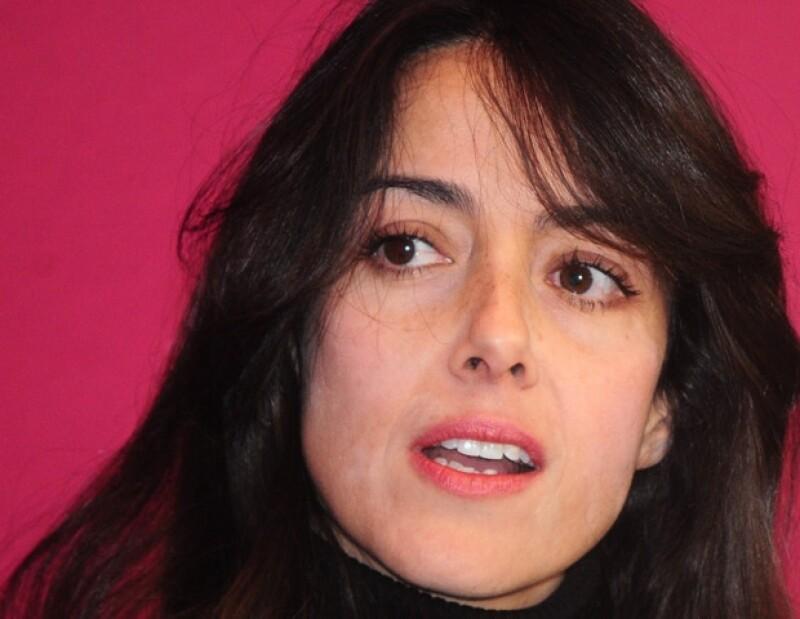 La actriz dijo que Enrique Peña Nieto no es su presidente.