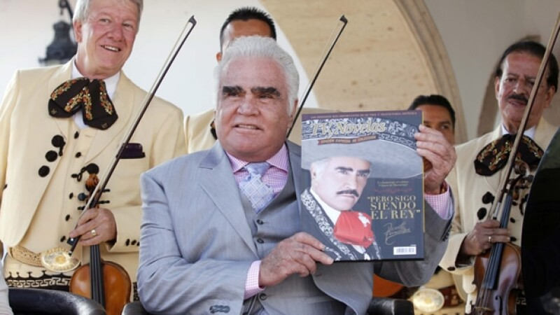 Vicente Fernandez presentacion libro