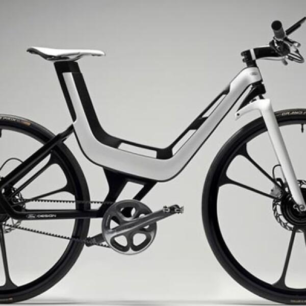 Presentada por Ford en 2011, la Ford E-Bike se caracteriza por ser una bicicleta electrónica de alta tecnología. Está compuesta de aluminio y carbono y pesa tan sólo 2,5 kg.