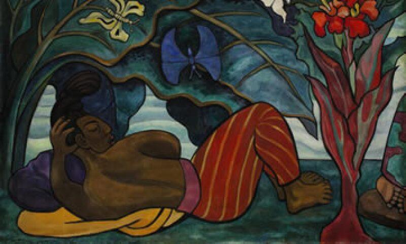 La colección de Lorenzo Zambrano incluye obras de Diego Rivera como Río Juchitan (imagen) y Leonora Carrington. (Foto: AFP )