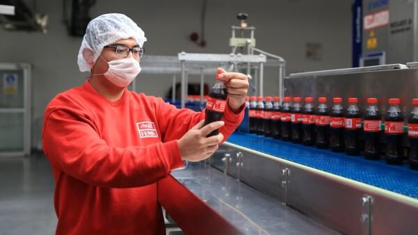 Coca Cola Femsa Toluca.