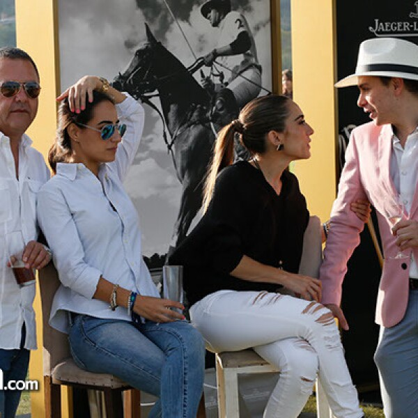 Óscar Pérez Gil,Mariana del Villar,Andrea Salazar y Fabian Jaime