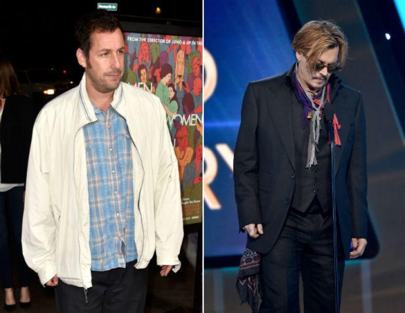 Mientras Sandler lidera por segundo año consecutivo el conteo de Forbes con los famosos más sobrepagados en Hollywood, Johnny Depp y Ryan Reynolds se unen a la lista.