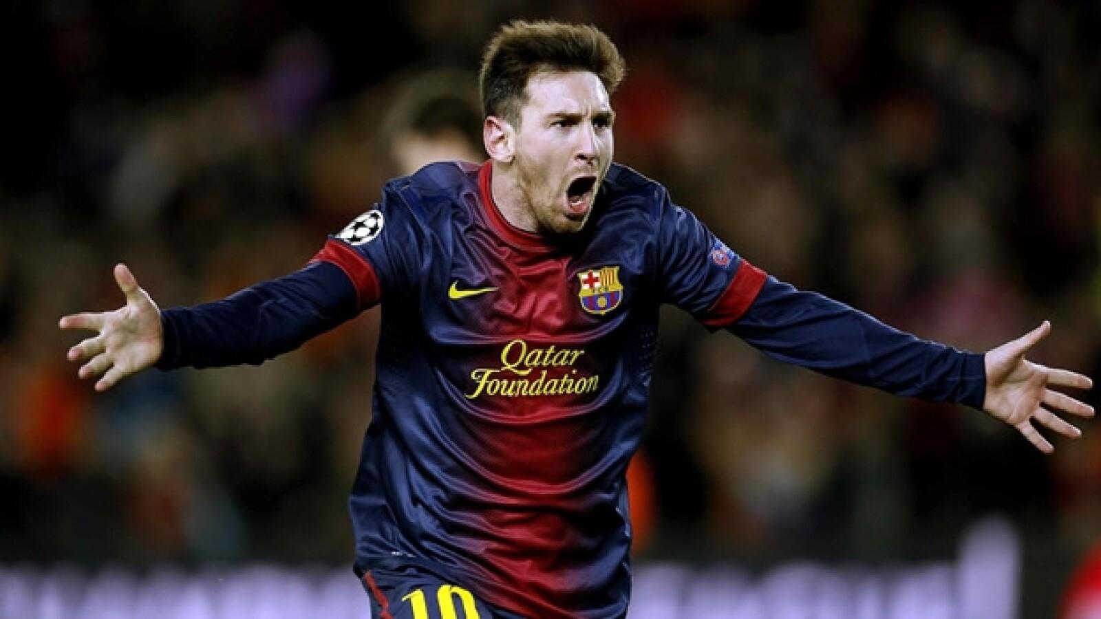 messi, barcelona vs milan, segundo gol