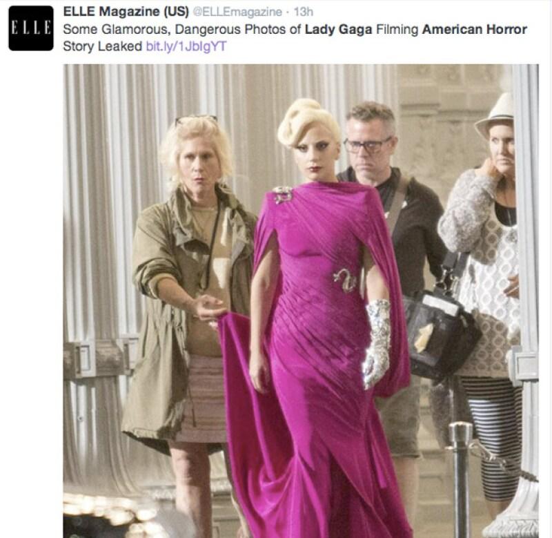 Lady Gaga dará vida a Elizabeth, quien será dueña del terrorífico hotel.
